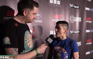 Catherine Costigan post fight interview at Cage Warriors 81