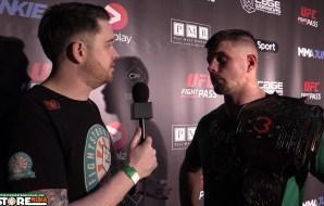 Karl Moore post fight interview at Cage Warriors 81