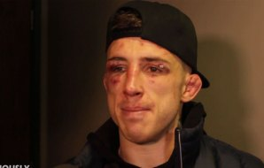 Watch: Norman Parke reacts to getting punched by Mateusz Gamrot's cornerman