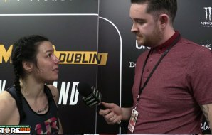 Watch: Sinead Kavanagh post fight interview at Bellator 187