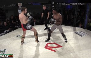 Watch: Luke O'Sullivan vs David Ola - Cage Legacy 7