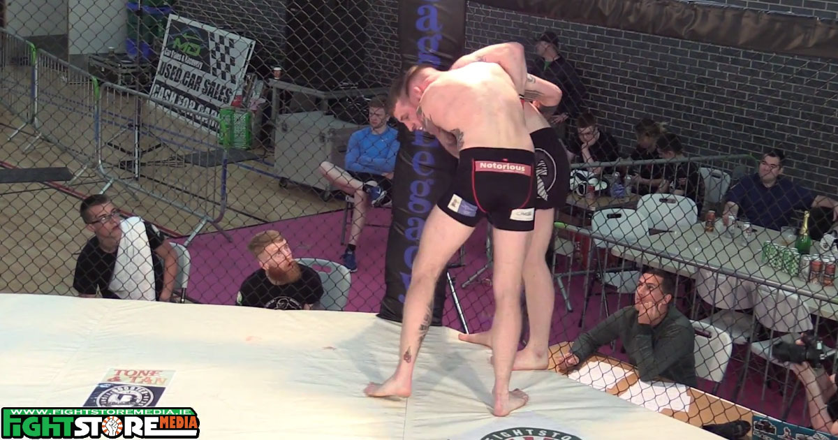 Watch: Sean Power vs Nate Enright - Cage Legacy 8