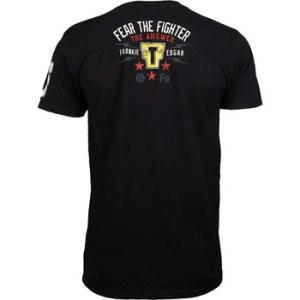 Frankie Edgar UFC 150 walkout shirt back