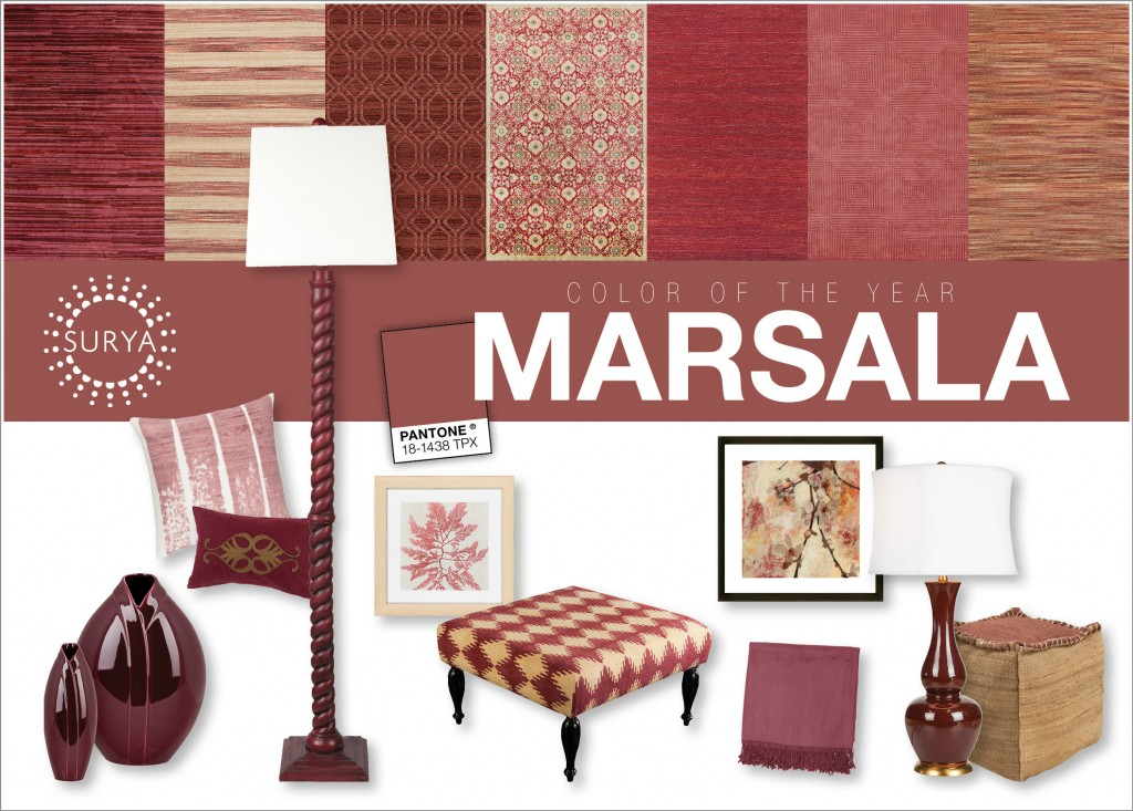 marsala decoration