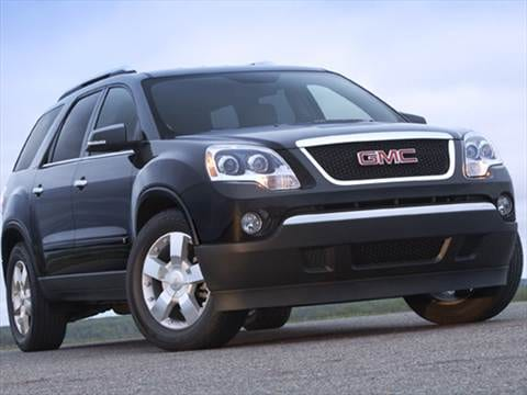 2009 GMC Acadia   Pricing  Ratings   Reviews   Kelley Blue Book 2009 gmc acadia