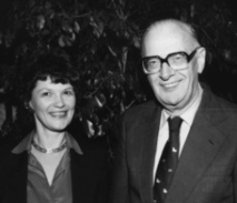 Alice K. Turner with Arthur C. Clarke in the 1970s. Photo by and copyright © Andrew Porter.