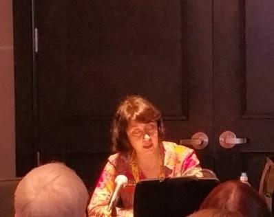Jody Lynn Nye reads at Balticon 50.