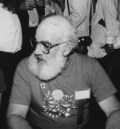 Art Widner at the 1986 Worldcon, photo taken and (c) by Andrew Porter.