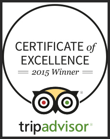 Certificate of Excellence awarded by TripAdvisor to Sailor Circus and Circus Sarasota.