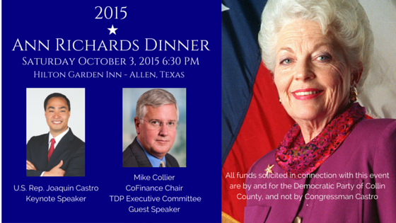 ann richards dinner