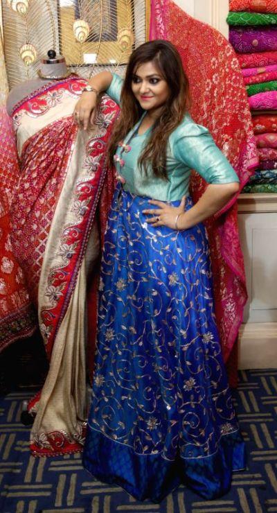 Kolkata: Actress Koneenica Banerjee during the ``FireFlies ...