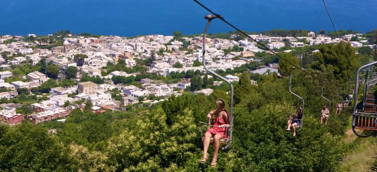 Mount Solaro Chair Lift Capri