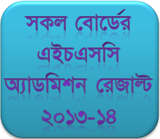 HSC Admission Notice for 2013-14 session