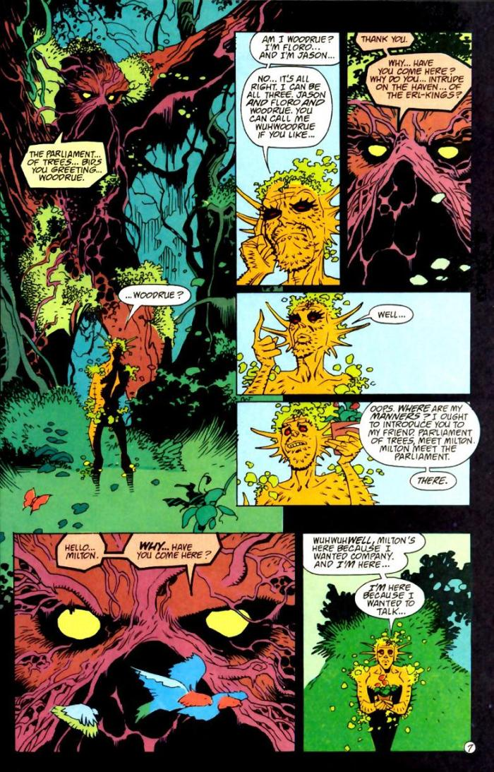 Swamp Thing Annual #5 neil gaiman