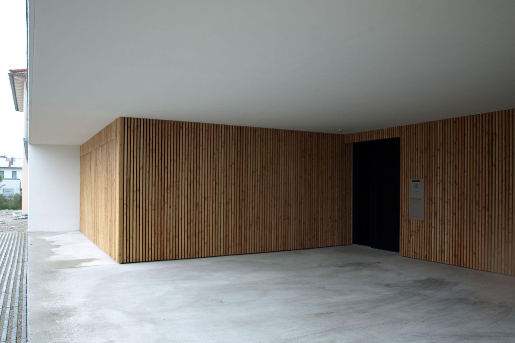 Einfamilienhaus Burghausen Haustür