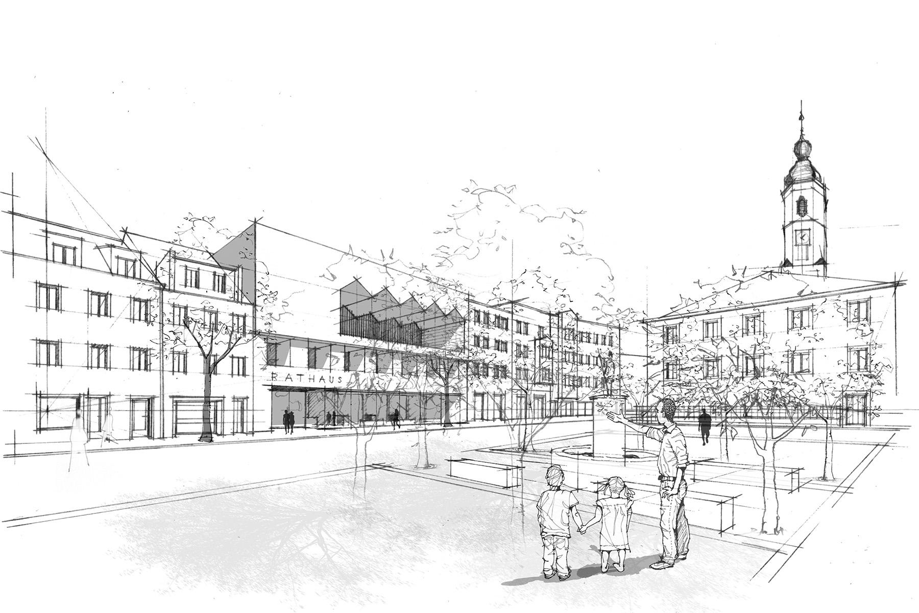 Verwaltungsbau für eine Behörde - Architekt in München