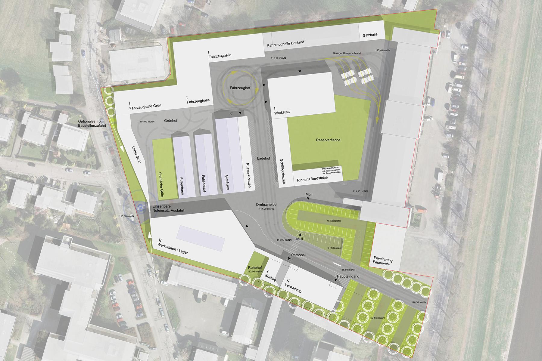 Gewerbe-Architektur Architekt in München
