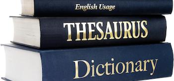 Dictionary Thesaurus English Usage