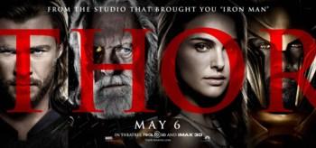 Chris Hemsworth, Natalie Portman, Anthony Hopkins, Idris Elba, Thor