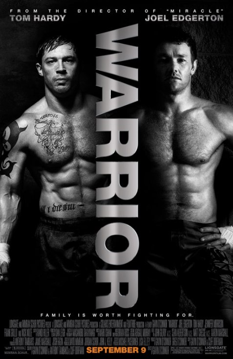 Warrior (2011) Movie Poster 2, 01