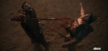 Liam McIntyre, Spartacus: Vengeance