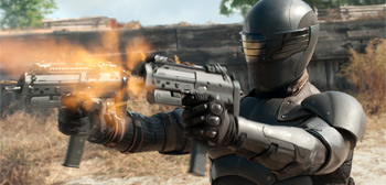 Snake Eyes Guns G.I. Joe: Retaliation
