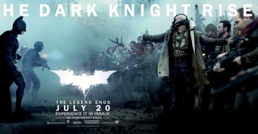 Batman Bane The Dark Knight Rises Movie Banner