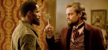 Jamie Foxx Leonardo DiCaprio Django Unchained