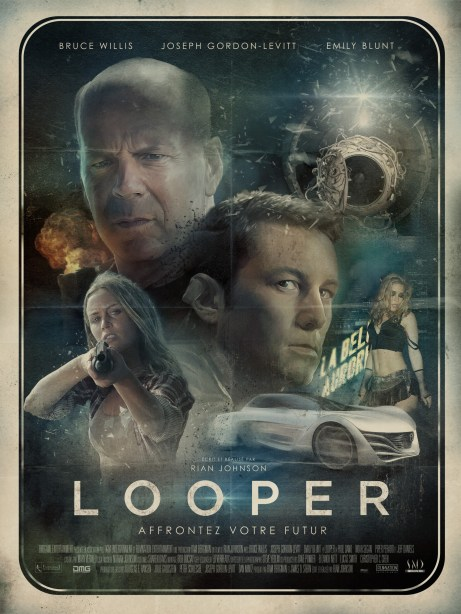 Looper French movie poster