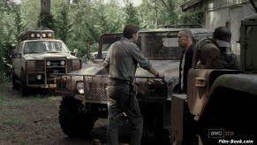 Michael Rooker David Morrissey The Walking Dead When the Dead Come Knocking