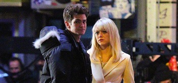 Emma Stone Andrew Garfield The Amazing Spider-Man 2