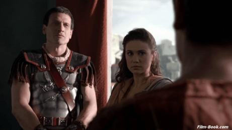 Simon Merrells Jenna Lind Spartacus War of the Damned Spoils of War