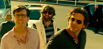 Bradley Cooper Zach Galifianakis Ed Helms The Hangover 3
