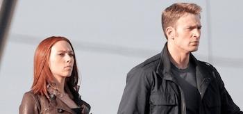 Chris Evans Scarlett Johansson Captain America The Winter Soldier