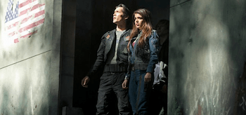 Marie Avgeropoulos Bob Morley The 100