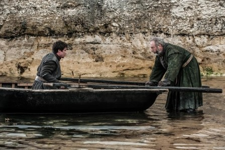 Liam Cunningham Joe Dempsie Game of Thrones Mhysa