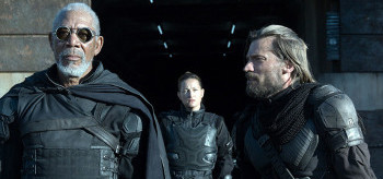 Morgan Freeman Zoe Bell Nikolaj Coster-Waldau Oblivion
