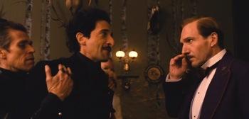 Willem Dafoe Ralph Fiennes Adrien Brody The Grand Budapest Hotel