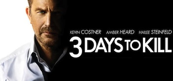 3 Days to Kill Movie Poster