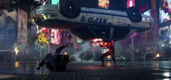 Police Car The Amazing Spiderman 2