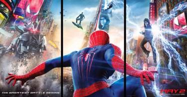 The Amazing Spider Man 2 movie banner