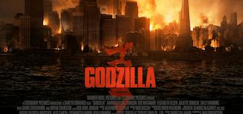 Godzilla movie poster 4