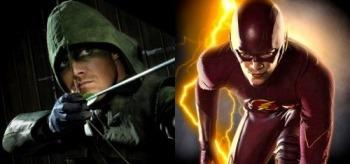 Stephen Amell Grant Gustin Arrow The Flash