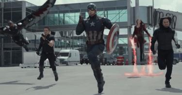 Anthony Mackie Jeremy Renner Chris Evans Elizabeth Olsen Sebastian Stan Captain America Civil War