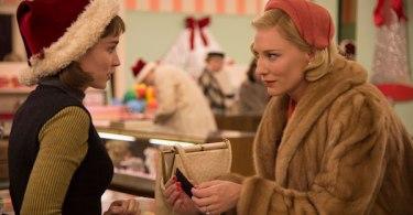 Rooney Mara Cate Blanchett Carol