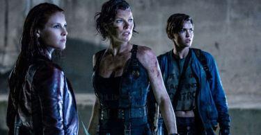 Ali Larter Milla Jovovich Ruby Rose Resident Evil: The Final Chapter