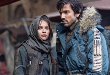 Felicity Jones Diego Luna Rogue One: A Star Wars Empire Magazine