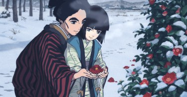 Mother Daughter Flowers Winter Miss Hokusai