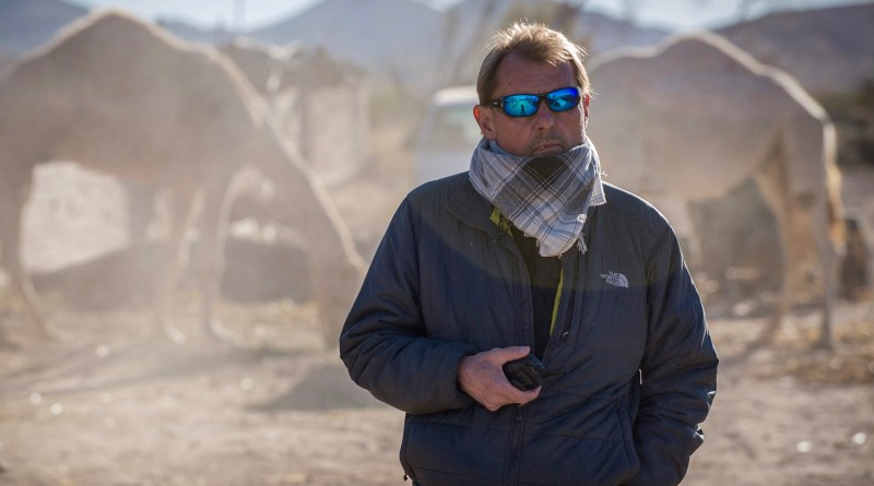 1st Assistant Director Bruce Moriarty on the set of 'Batman V Superman: Dawn of Justice'
