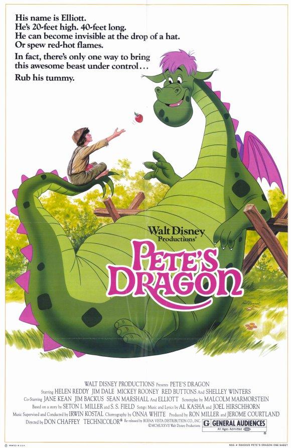 Filmfanatic Org 187 Pete S Dragon 1977